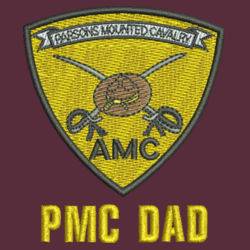 PMC Dad Performance Fishing Shirt Design